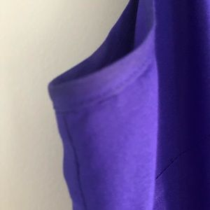 J. Crew Tops - J Crew Silk Neck Tie Bow Blouse Purple